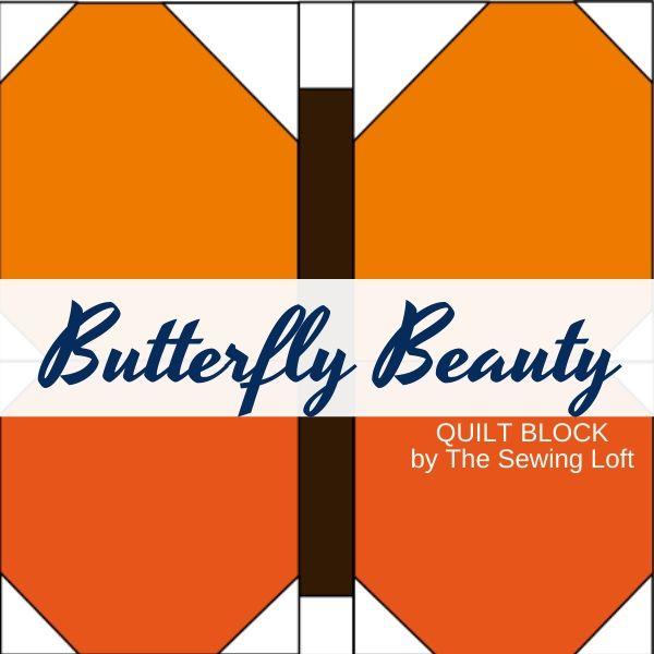 Butterfly Beauty Quilt Block Pattern