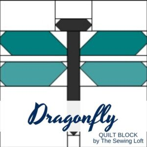 Dragonfly Quilt Block Pattern | The Sewing Loft