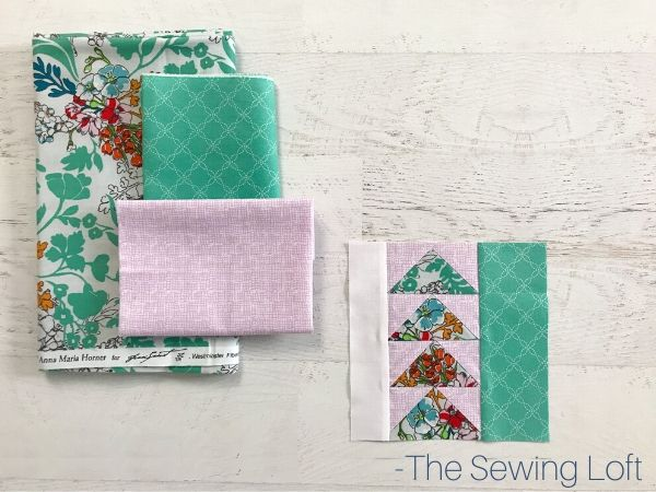 Directional Quilt Block Pattern | The Sewing Loft