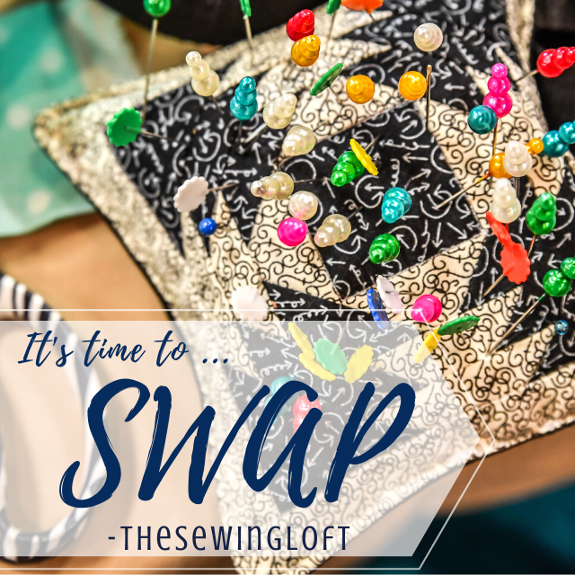 It's time for another SWAP. Sign up today to be teamed up with your perfect partner and receive tons of helpful hints and inspiration. Pincushion SWAP 2020 Edition with The Sewing Loft