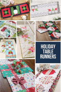 Holiday Table Runner Sewing Patterns