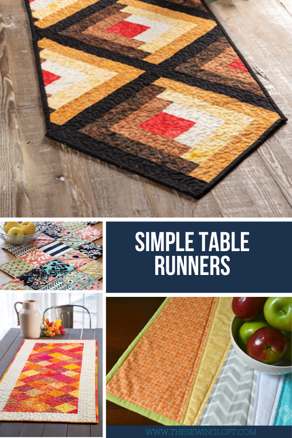Simple DIY Holiday Table Runner