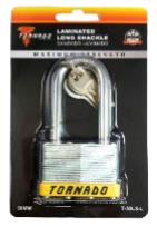 LAMINATED LONG SHACKLE LOCK