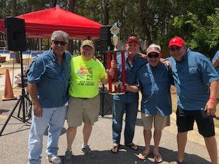 Gulf Breeze Sertoma with trophy