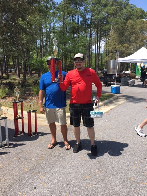 quest grillin' team 3rd place backyard division
