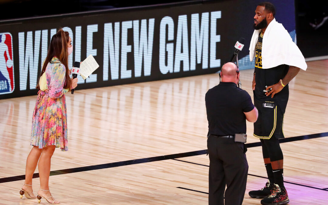 LeBron James signs a new two-year contract extension with LA Lakers