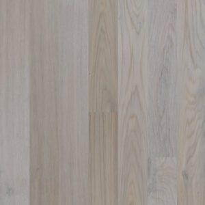 White oak engineered wooden flooring is real light wood floors