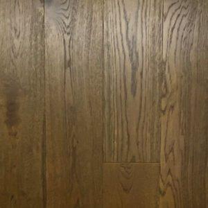 Bronze Brown wooden oak floors Auckland Smoky hardwood timber flooring , Real Engineered Oak Wood Flooring