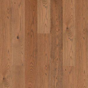 Brown European oak Engineered wood flooring