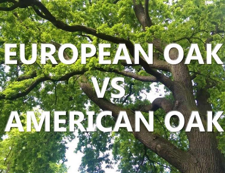 European Oak or American white Oak flooring