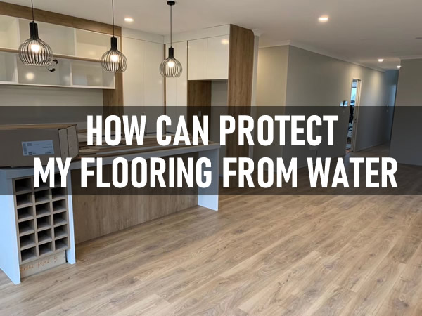 How can protect my flooring from water? BinylPro laminate flooring is best wood looking and water protect