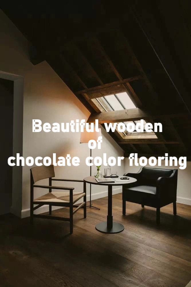 beautiful wooden of Chocolate colors flooring