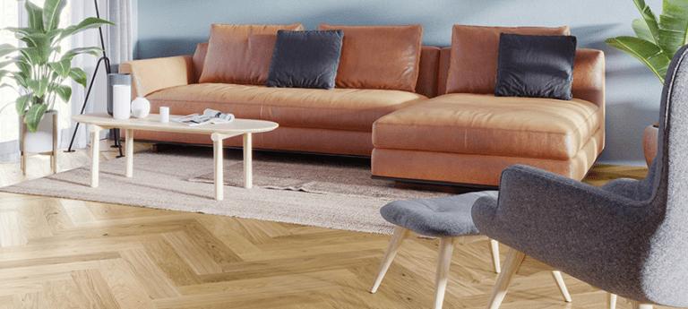 Wood Herringbone flooring piecing meets warm elegance, Elegance can be found in the details. hardwood floor is best choice.Barlinek herringbone floors