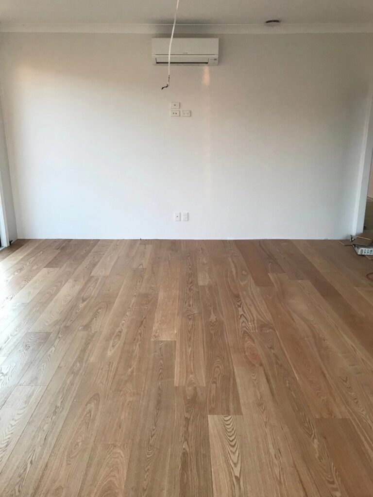 Nature wood color flooring is truly beauty
