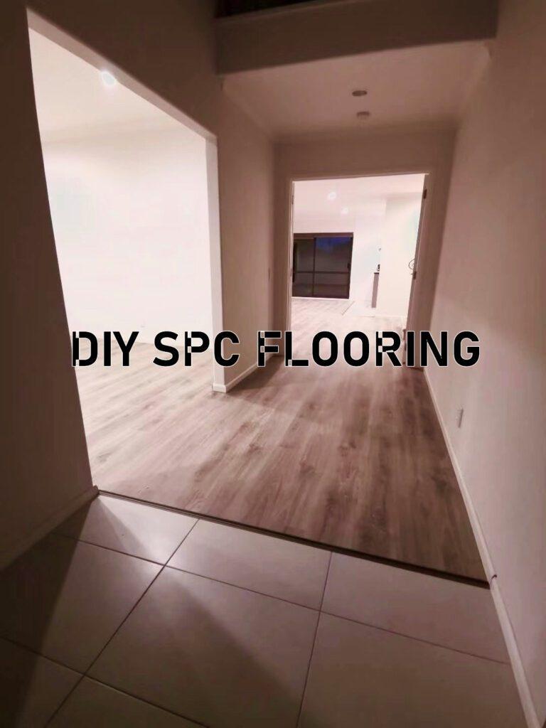 Fast & Easy DIY install bright smoky spc floors