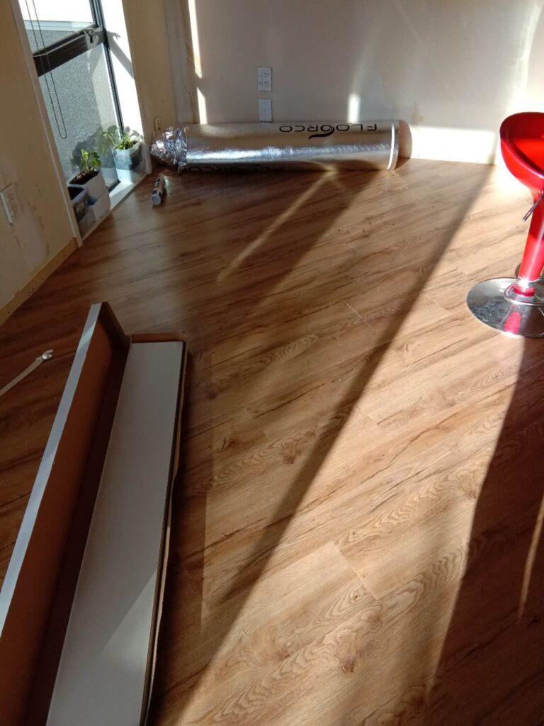 Commercial of SPC rigid core vinyl flooring Auckland
