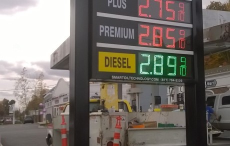 LED GAS PRICE SIGN WEST CHESTER, NY