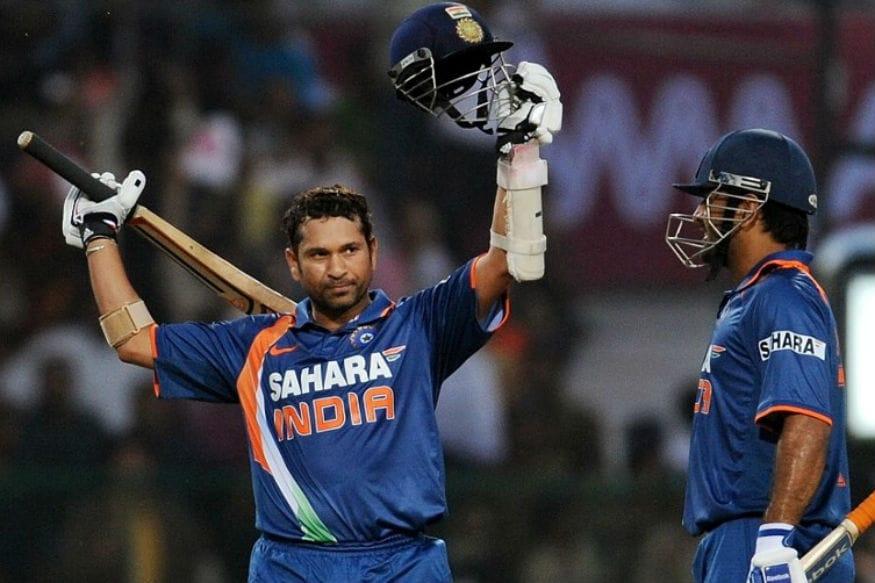 Sachins ODI double ton the 1st by anyone