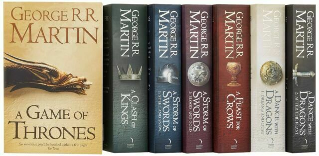 A Song of Ice and Fire Series - Book version of Game of Thrones