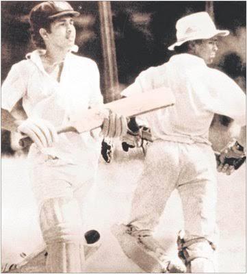 Sachin  Kambli Record Partnership in 1988