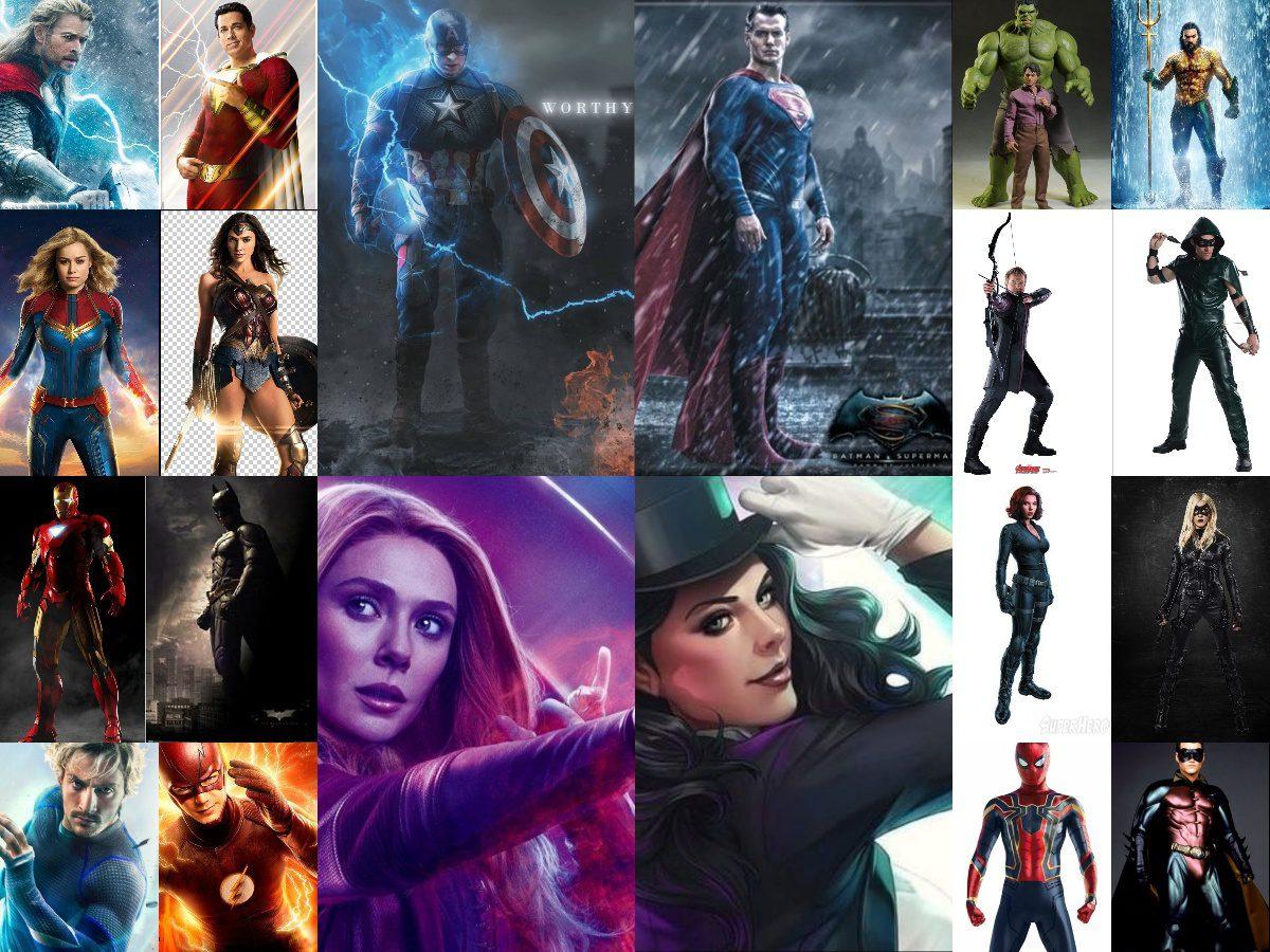 Top 10 Marvel Vs DC