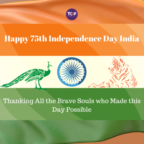Happy Independence Day India - Remembering all those who fought for the Indian freedom