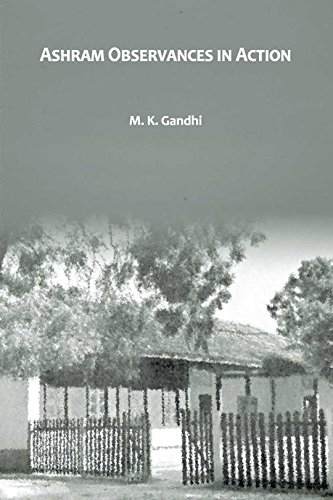 Image of the Book written by Mahatma Gandhiji - Ashram Observances in Action