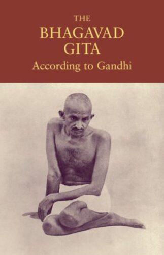 Image of the Book written by Mahatma Gandhiji - The Bhagavad Gita According to Gandhi