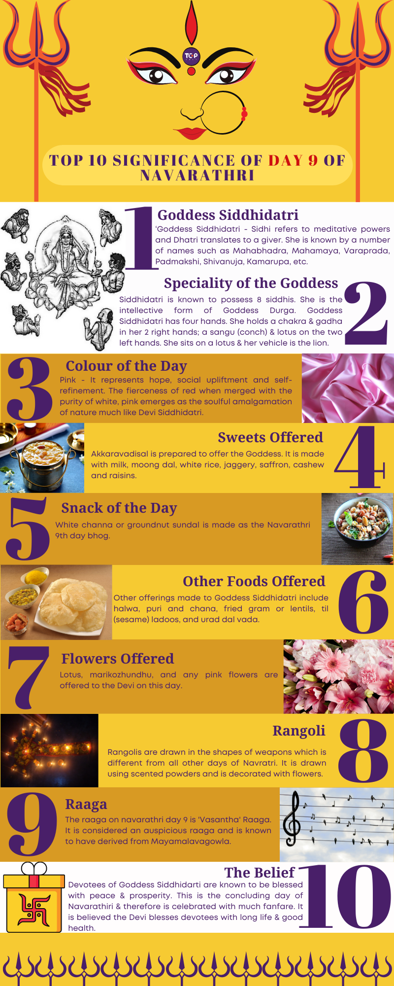 Significance of Day 9 of Navarathri