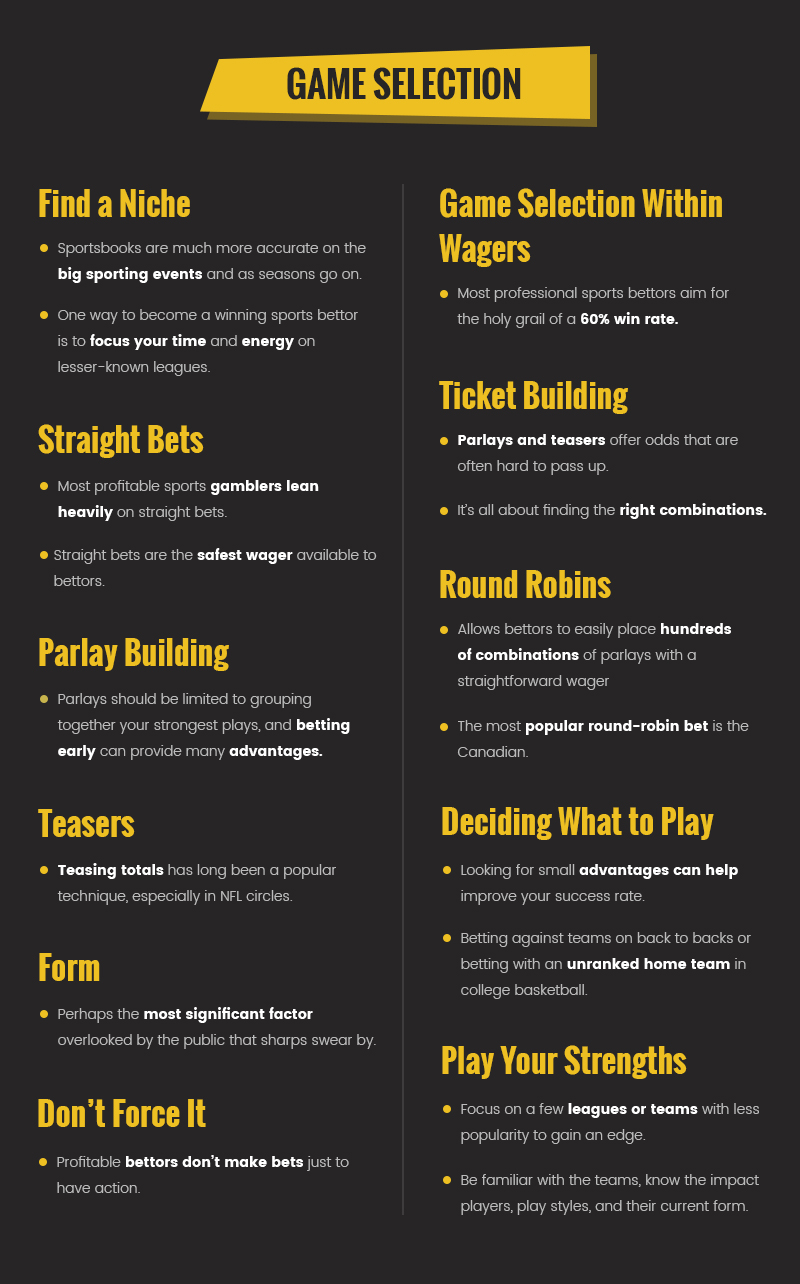 How to Pick Sports to Bet on
