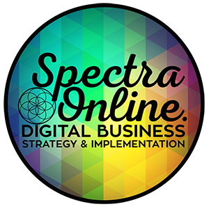 Spectra Online Digital Strategy & Implementation, Auckland Logo