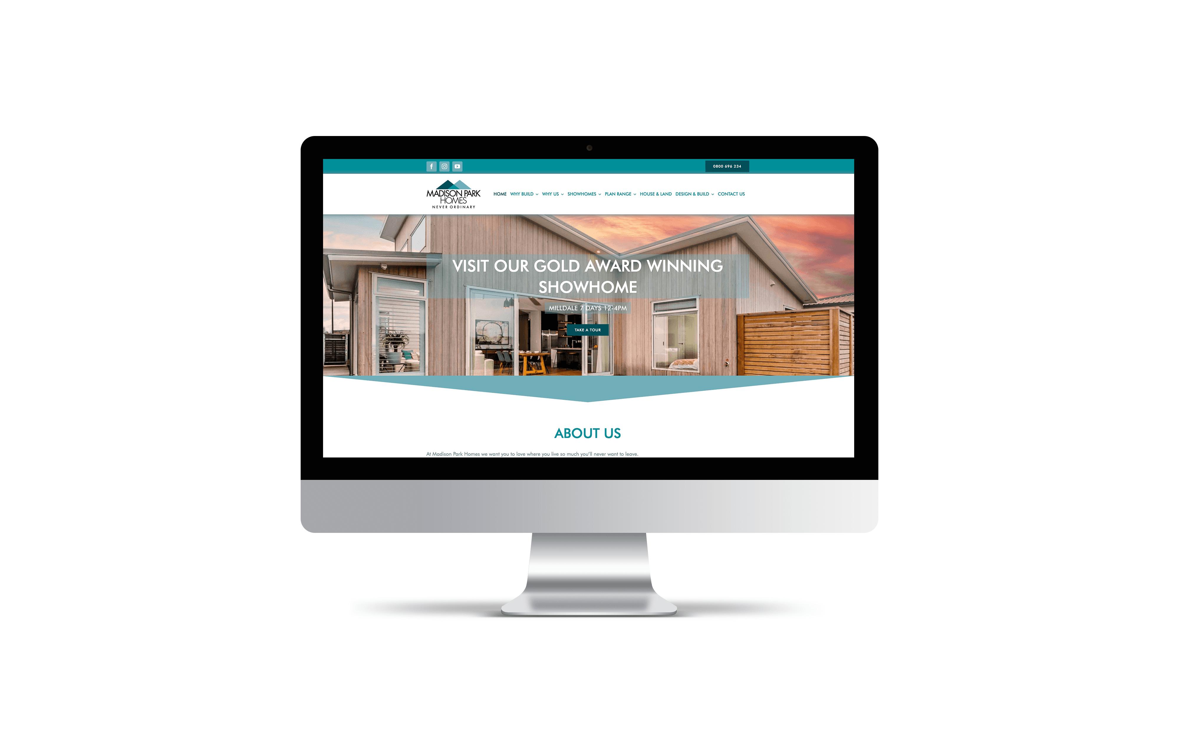 Website: Madison Park Homes