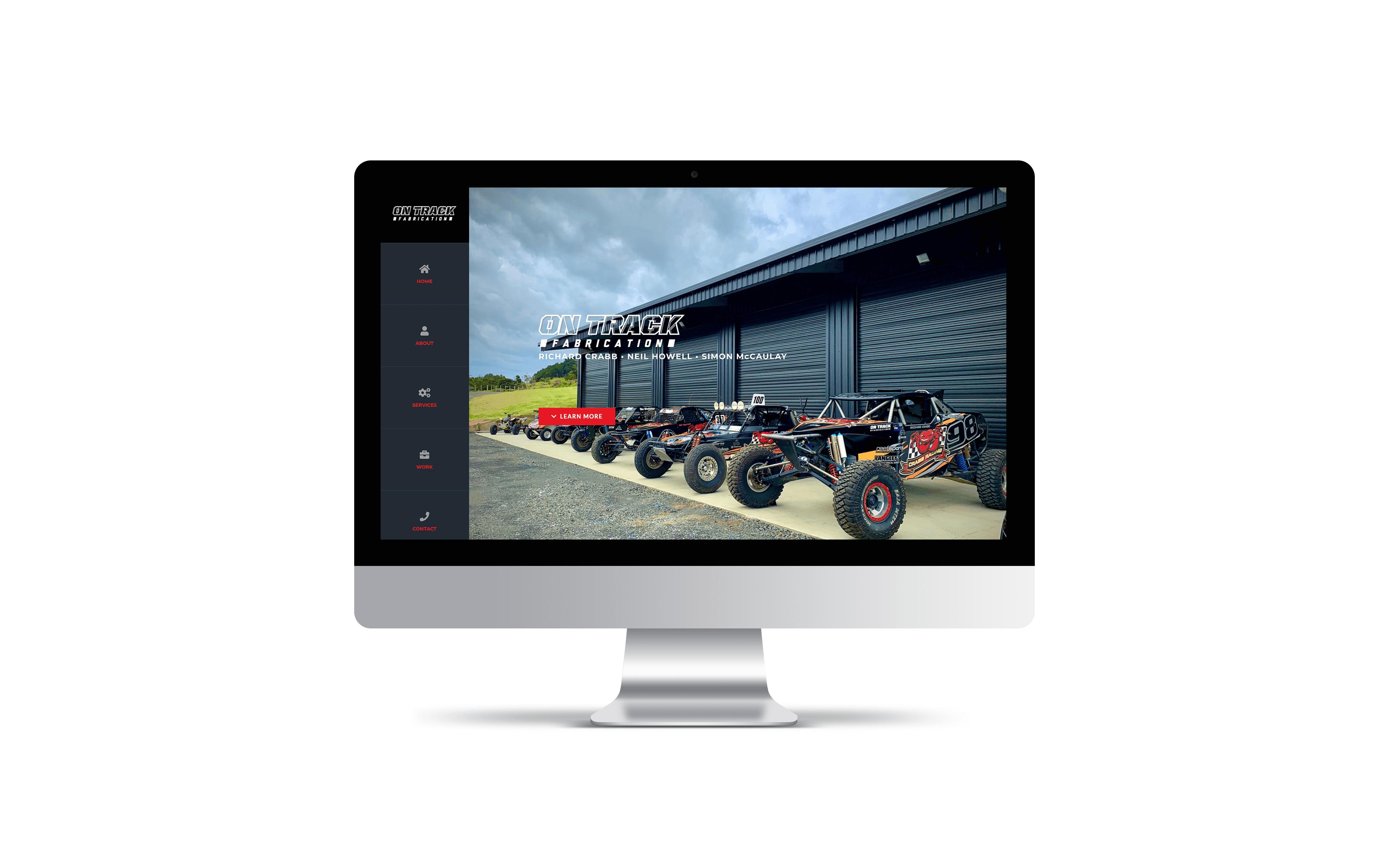 Website: On Track Fabrication