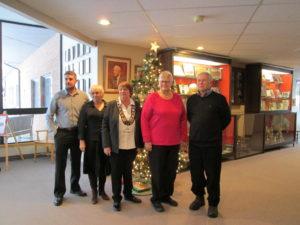 2018- 2022 Kearney Council: From left to right: Councillor Michael Rickward, Councillor Cheryl Philip, Mayor Carol Ballantyne, Deputy Mayor Elizabeth Stermsek, Councillor Paul Ziraldo