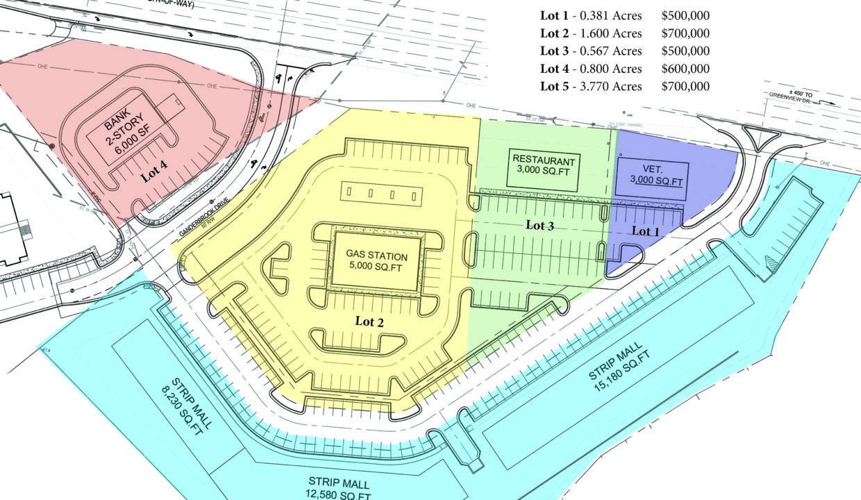 Brandsgate Site Plan for Marketing
