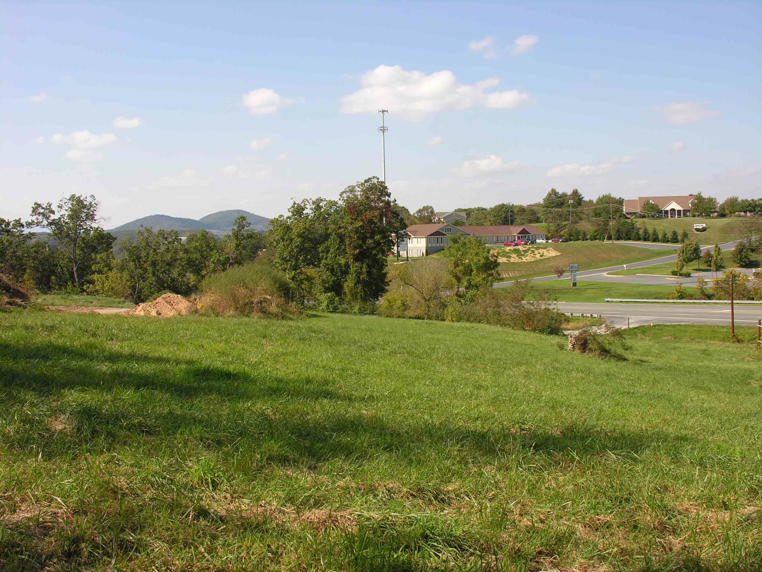 Commercial Land in Augusta County for a Gas Station