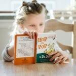 licensed daycare for kids girl reading