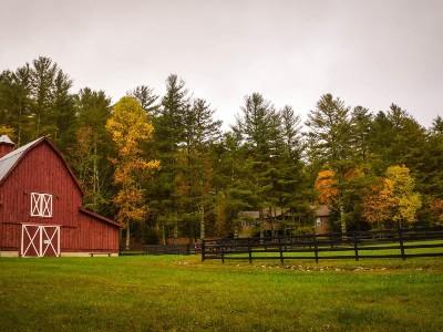 Farmland and Barn