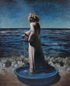 8. Jody Travis Thompson Realized Oil on Canvas 52 in x 60 in, 2016