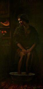 Demeter - Oil on Canvas, 32 in x 50 in