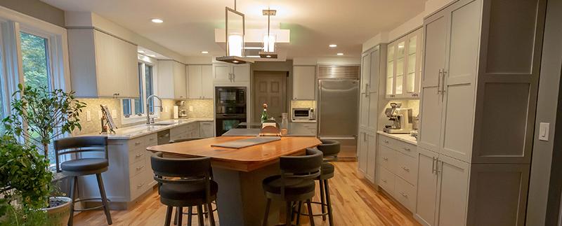 full home kitchen design process
