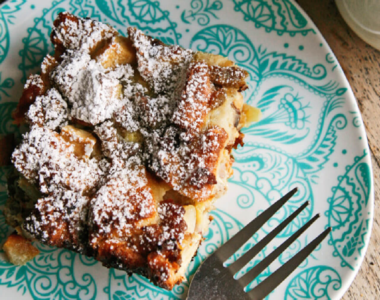 Sweet and Savory Bread Pudding