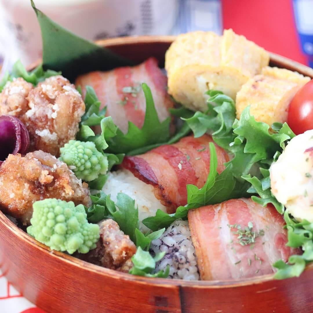 Bacon-Wrapped Onigiri