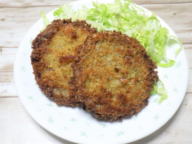 Pork Patty Menchi Katsu