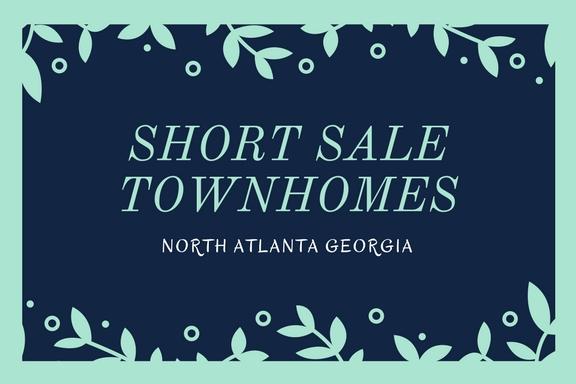 Short Sale Townhomes In North Atlanta