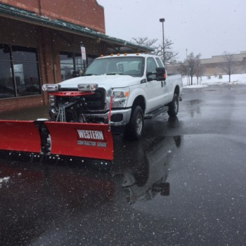 Snow & Ice Removal | Young's Landscape Management, Inc.