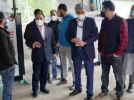 Dir Health conducts extensive tour of South Kashmir