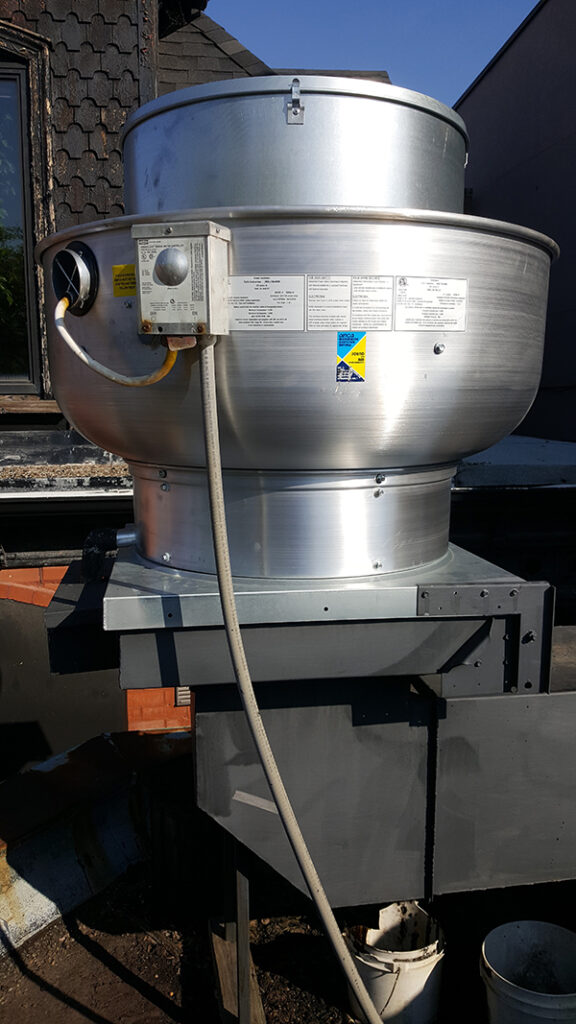 Commercial Cooking Exhaust Fan