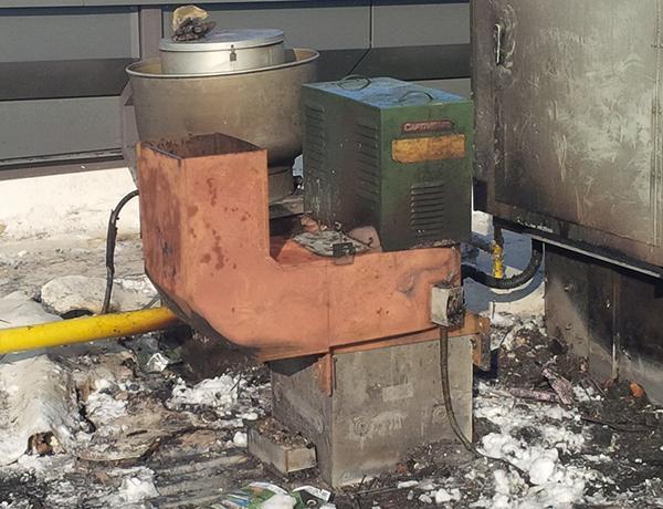 Commercial Cooking Fan Repair