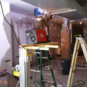 Restaurant Exhaust Duct Installation
